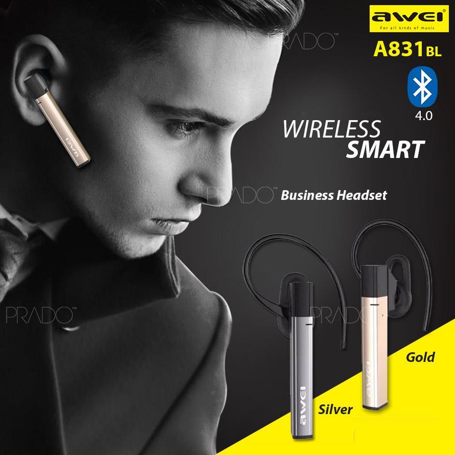 fafd9f62359 AWEI A831BL Wireless Sports In-ear Earphone Stereo Bluetooth Headset. ‹ ›