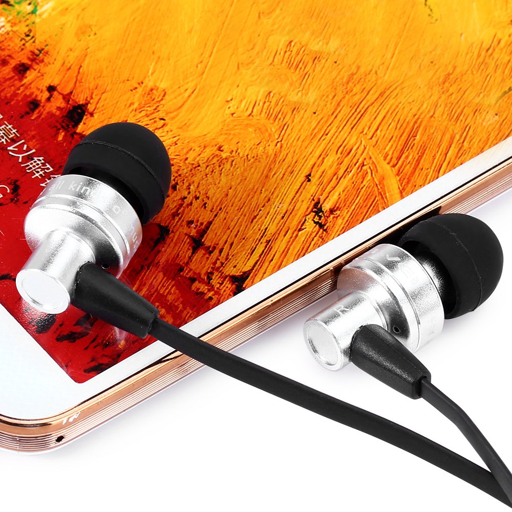 AWEI ES - 900I 1.2M CABLE LENGTH IN-EAR EARPHONE WITH MIC FOR MOBILE P..