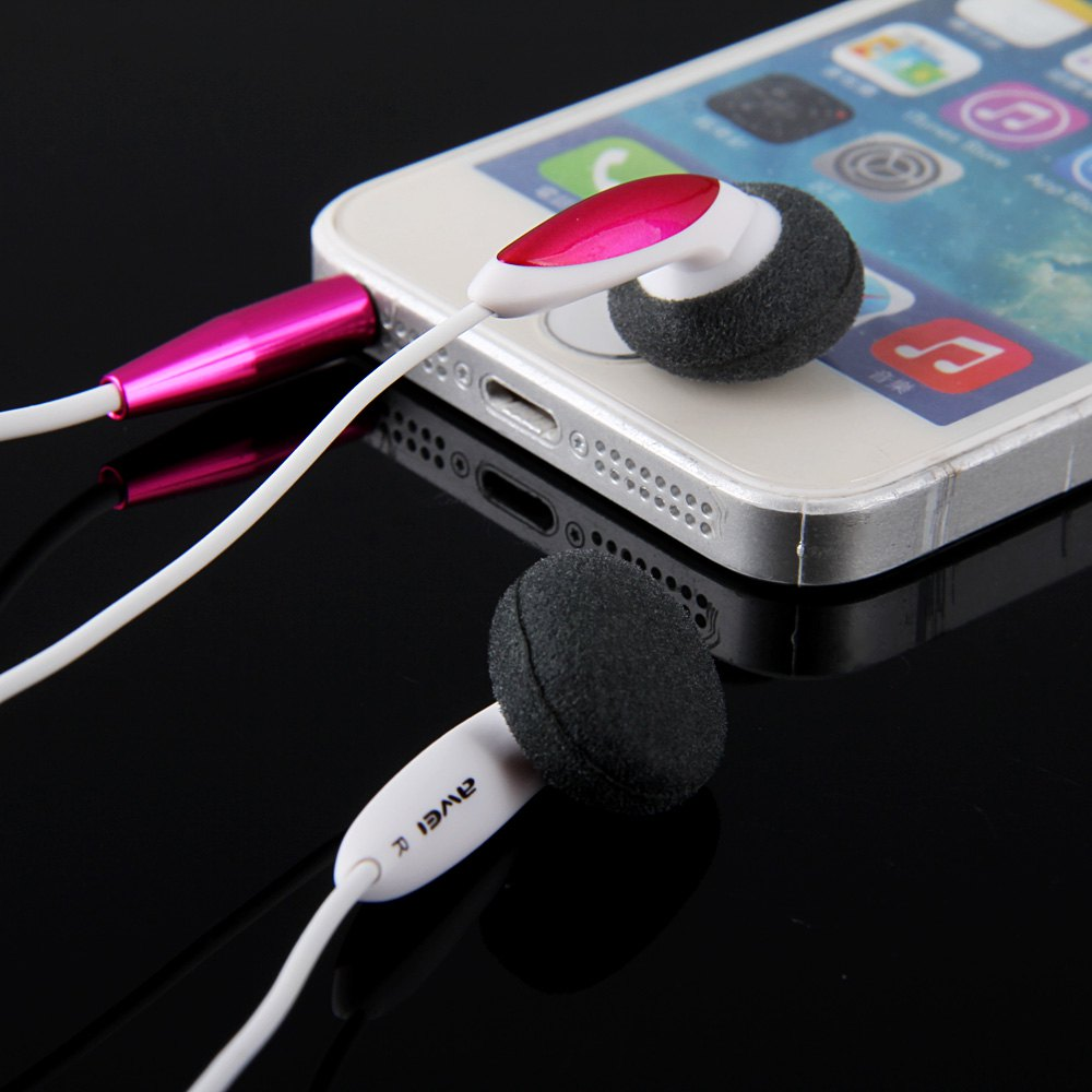AWEI ES12I 1.2M CABLE LENGTH IN-EAR EARPHONE WITH MIC FOR MOBILE PHONE..