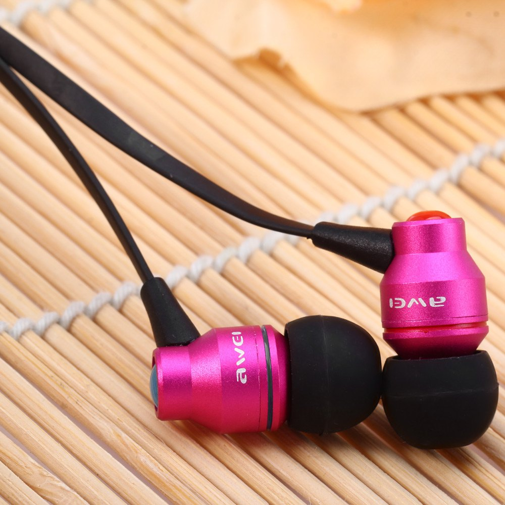 AWEI TE800I 1.2M CABLE LENGTH IN-EAR EARPHONE WITH MIC FOR ANDROID CEL..
