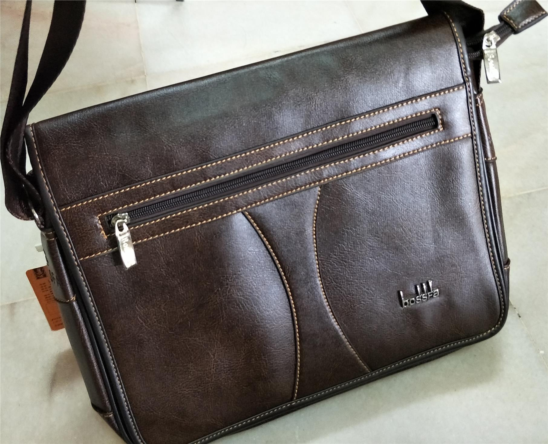 AWESOME UNISEX SLING LAPTOP AND DOCUMENT BAG