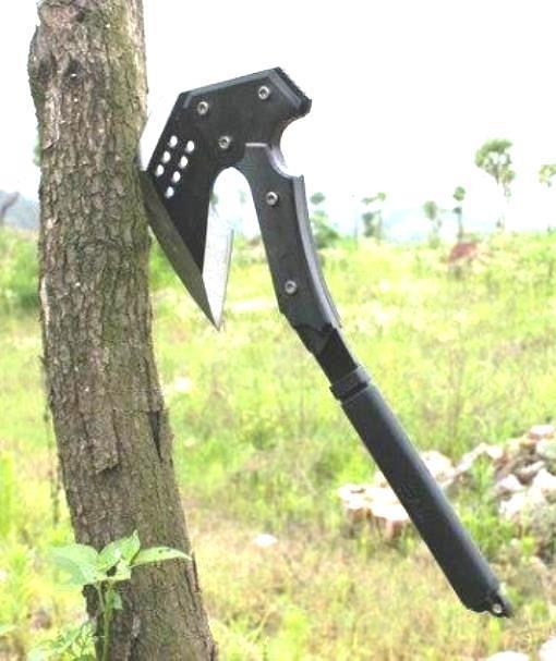 Axe Hoe Cutting Kunai Dart Wing Weapon Spear Hammer Dig Excavate Camp