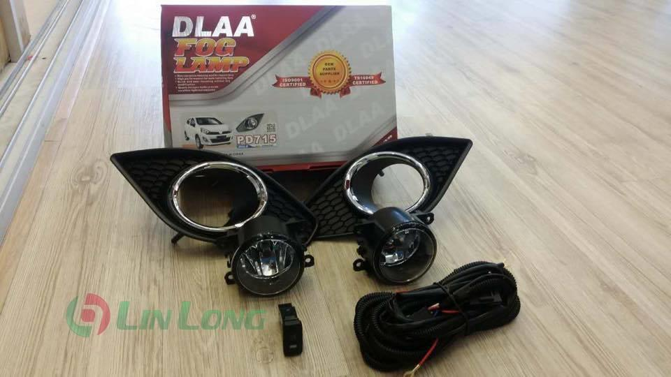 AXIA FOG LAMP WITH CHROME COVER