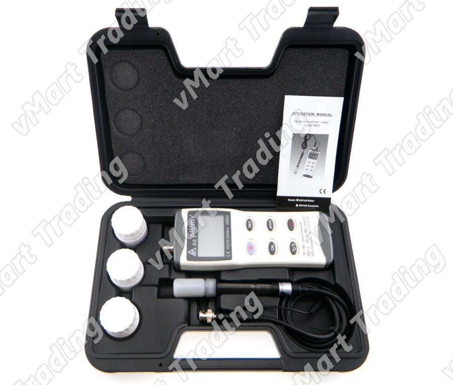 AZ Instrument AZ8601 Advanced pH / mV Data Logger Meter