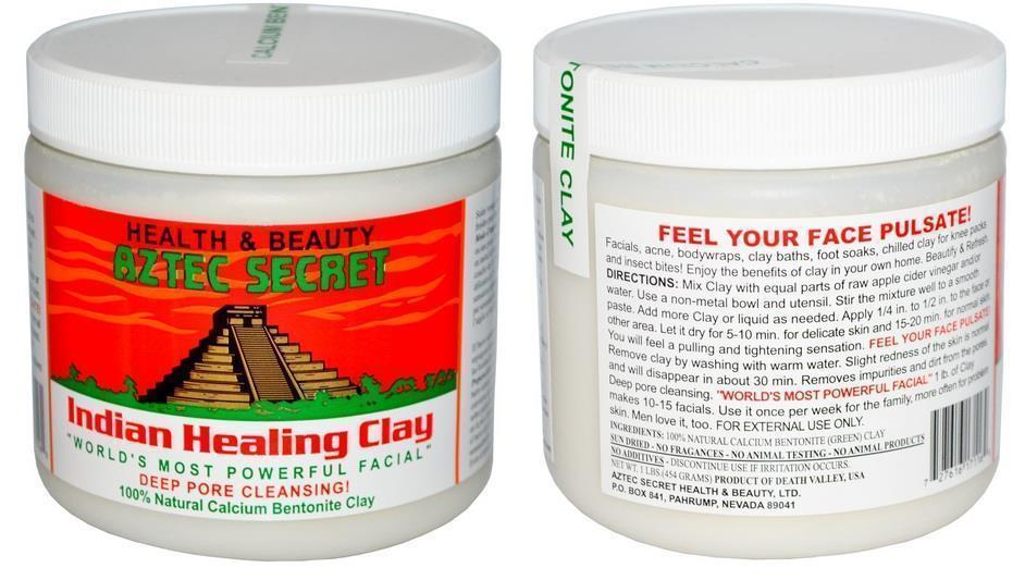 Aztec Secret, Indian Healing Clay, 100% natural bentonite clay 454g
