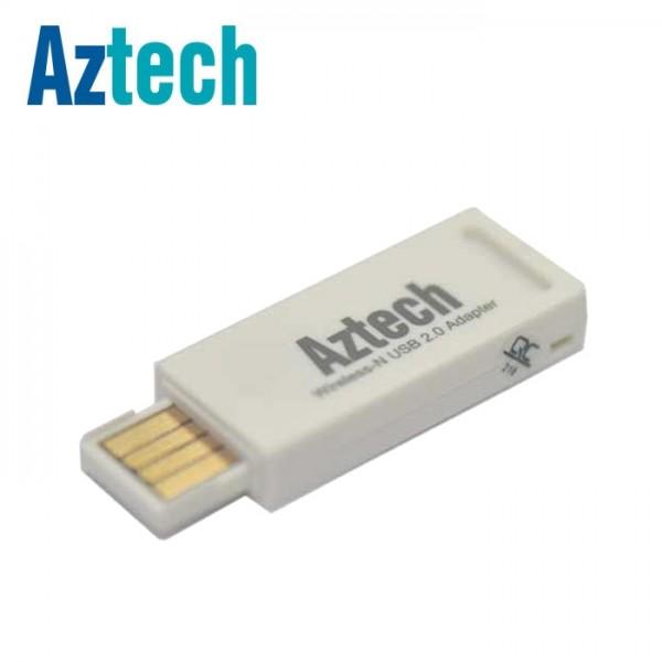 Aztech high speed wireless-n 300mbps usb 2. 0 adapter.