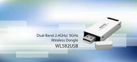 AZTECH WIFI N 300MBPS DUAL BAND USB ADAPTER (WL582USB)