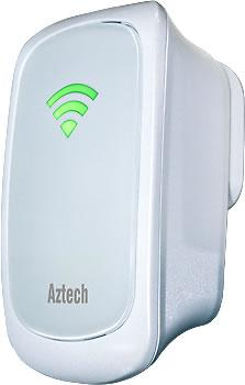 AZTECH WIFI N 300MBPS WIRELESS EXTENDER / REPEATER (WL559E)