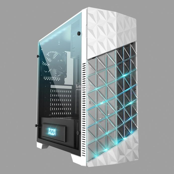AZZA ONYX 260 WHITE MID TOWER GAMING (end 3/24/2018 6:15 PM)