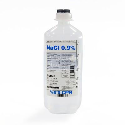 B  Braun 0 9% Sodium Chloride 500ml
