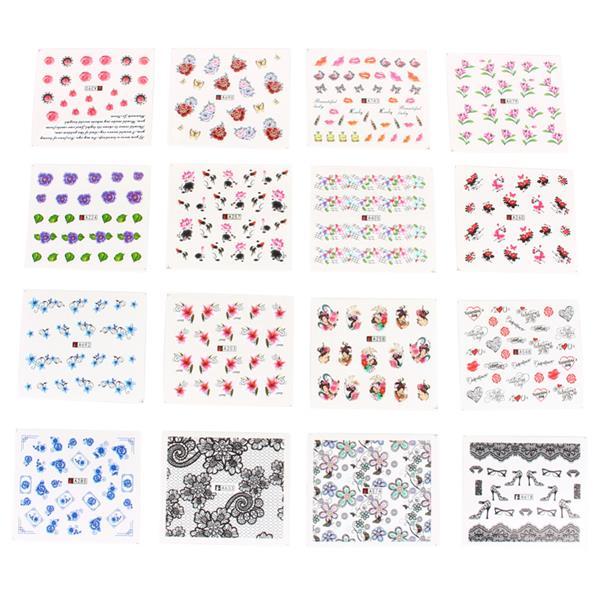 B) Fancy DIY Nail Art Stickers 50 sh (end 3/21/2018 8:15 PM)