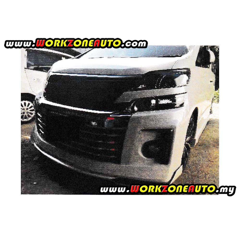 B1512 Toyota Vellfire Fiber Front Skirt (Rojam) For GS Bumper Only