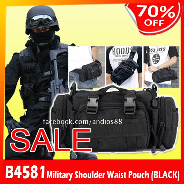 B4581-Military Shoulder Waist Pouch (end 9/28/2015 9:15 PM)