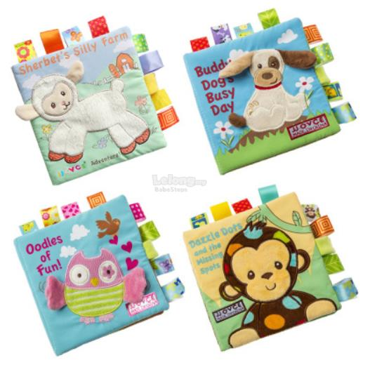 [BabeSteps] Cloth Book Educational (1 SET)
