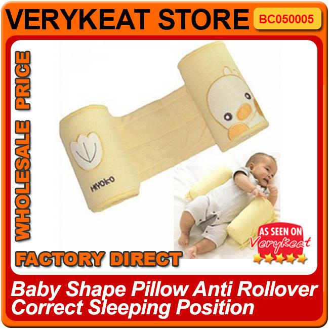 Baby Anti Rollover Correct Sleep Sleeping Position Support Pillow
