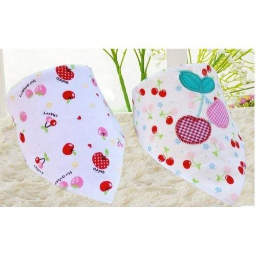Baby Bibs - Miss Sweet Cherries
