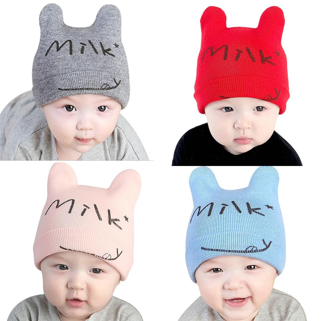 Baby Boy Girl Beanie Milk Bab Hat Korean Style Accessories. ‹ › 7efd81b26c9