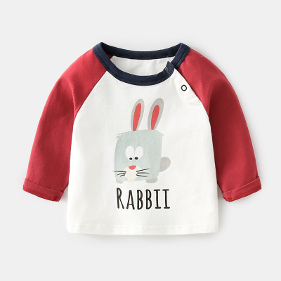 8136c00a Baby Boy Girl Cute Animal City Cotton Happy Day Long Sleeve T-Shirt To. ‹ ›