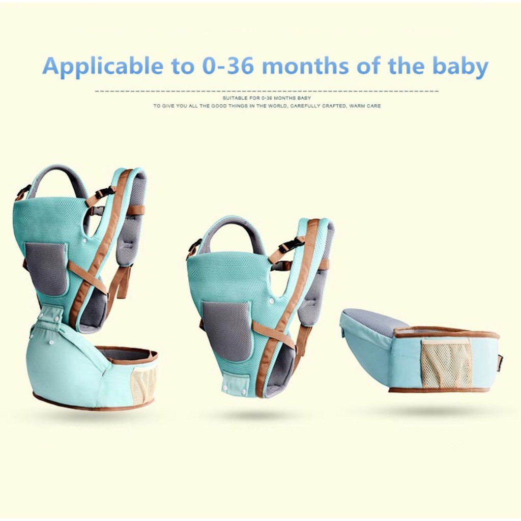 ab87ed4cc22 Baby Carrier Backpack Baby Bag Adjustable Lightweight Dukung Bayi