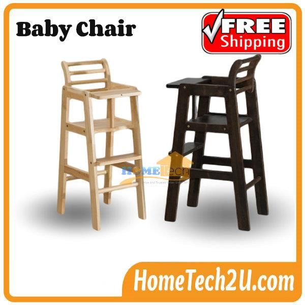 Baby Chair Commercial Restaurant Wooden High With Header
