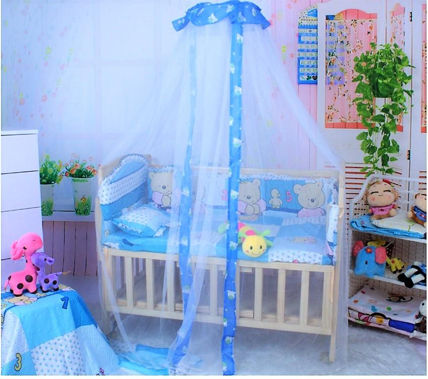 Baby Crib Baby Cot Canopy Mosquito Net Set  sc 1 st  Lelong.my & Baby Crib Baby Cot Canopy Mosquito N (end 5/17/2019 2:15 PM)