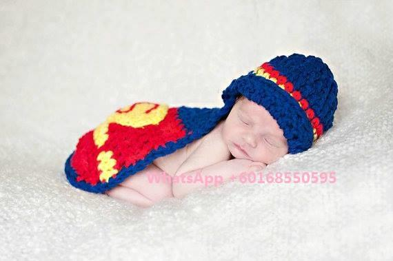 Baby Custome Photography Super man Photoshooting