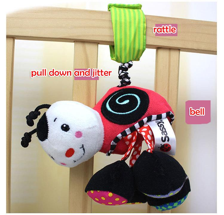 Baby Developmental Car hanging Bed bell Toy