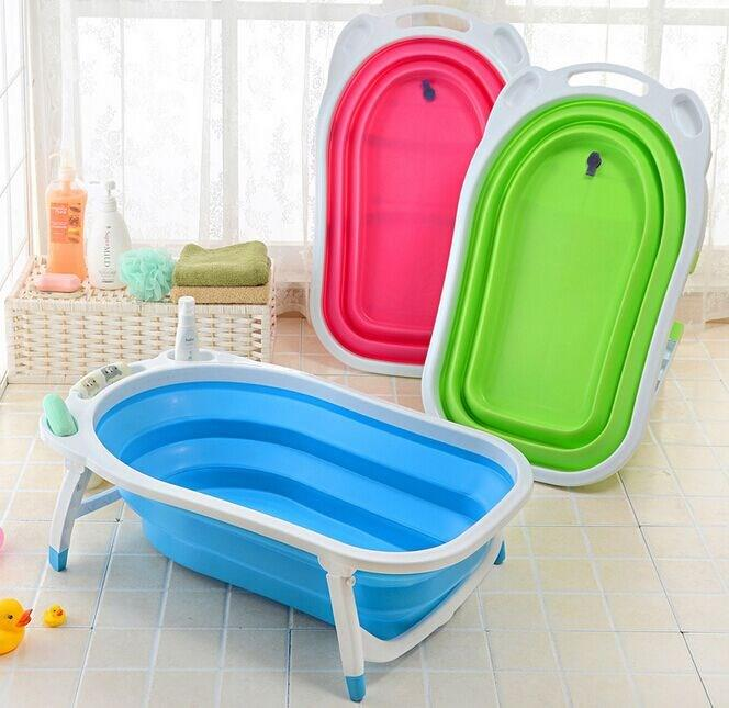 Great Baby Foldable Folding Portable Bathtub Bath Tub
