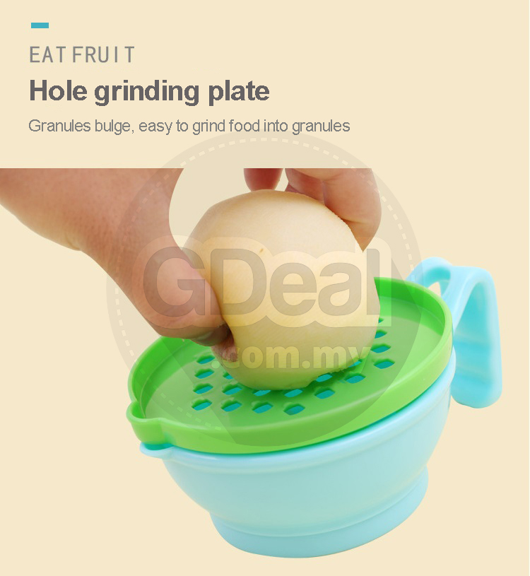 Baby Food Grinder 9pcs Set Baby Fruit And Vegetable Grinding