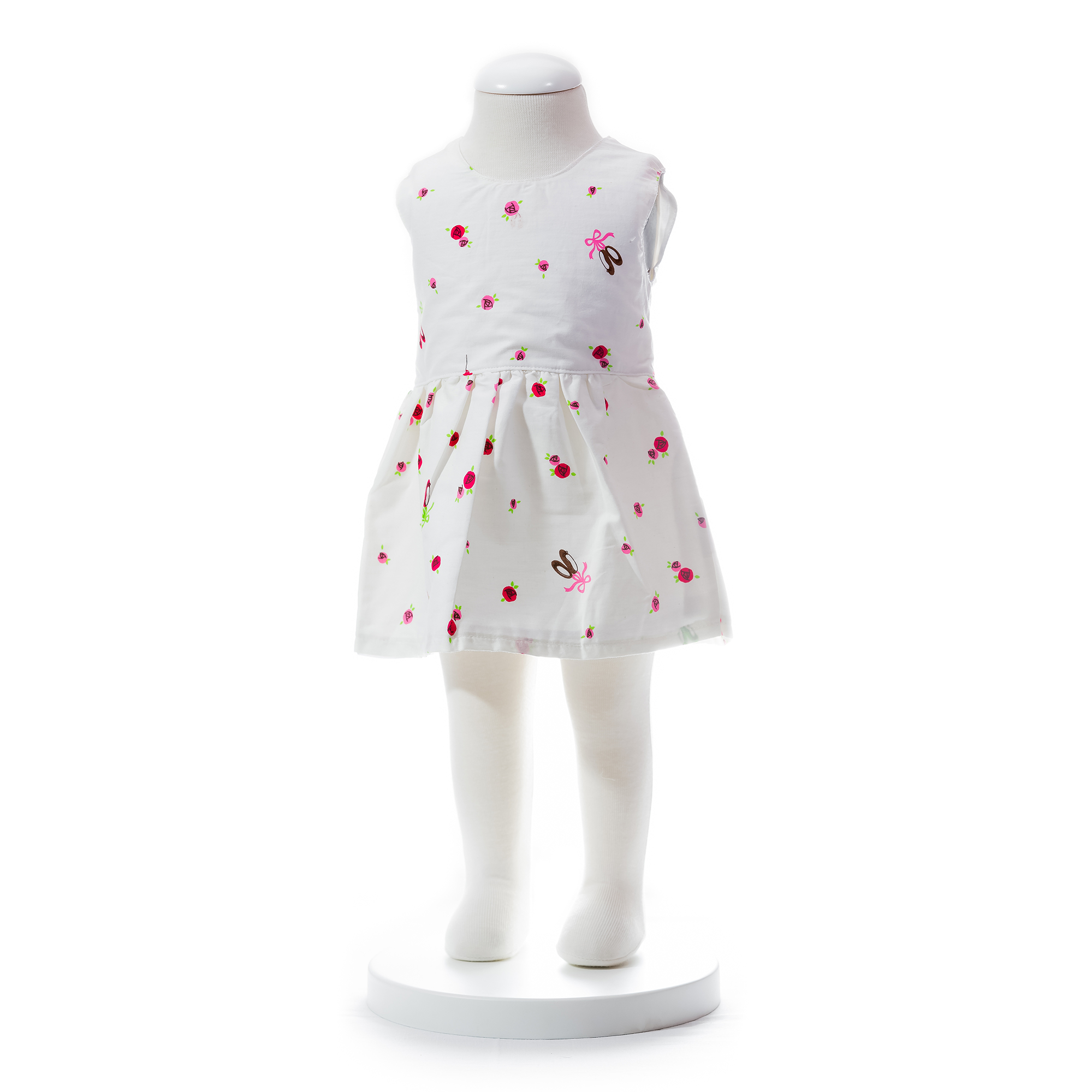 Baby Girls Floral Dress With Ribbon end 3 20 2020 5 49 PM