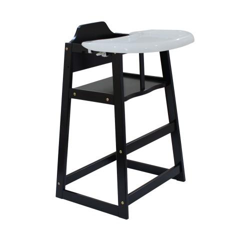 Baby High Chair (Mahogany)