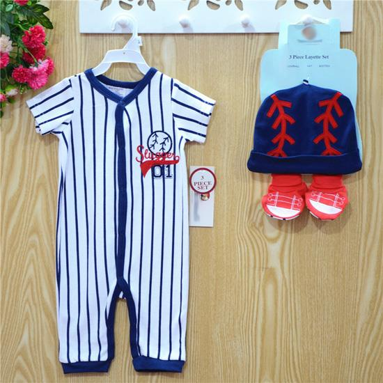 Baby Jumper Set (3 Pcs) - PYF Blue Slugger 01