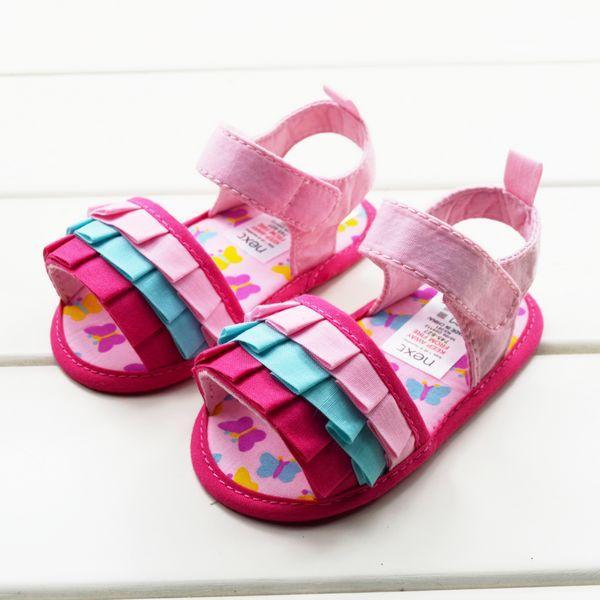 Baby Kids Pre Walker Shoes Sandals Slipper For 3 6 12 18
