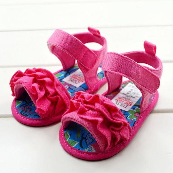 Baby Kids Pre Walker Shoes Sandals Slippers For 3 6 12 18