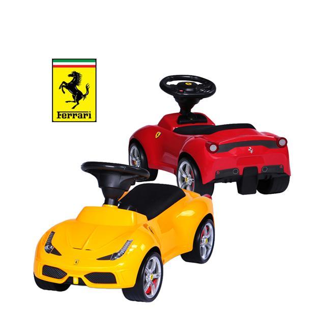 Baby Kids Walker Ride On Push Car Toy Licensed By Ferrari