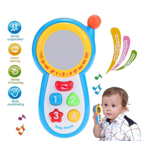 Baby Music Phone Early Learning Toy
