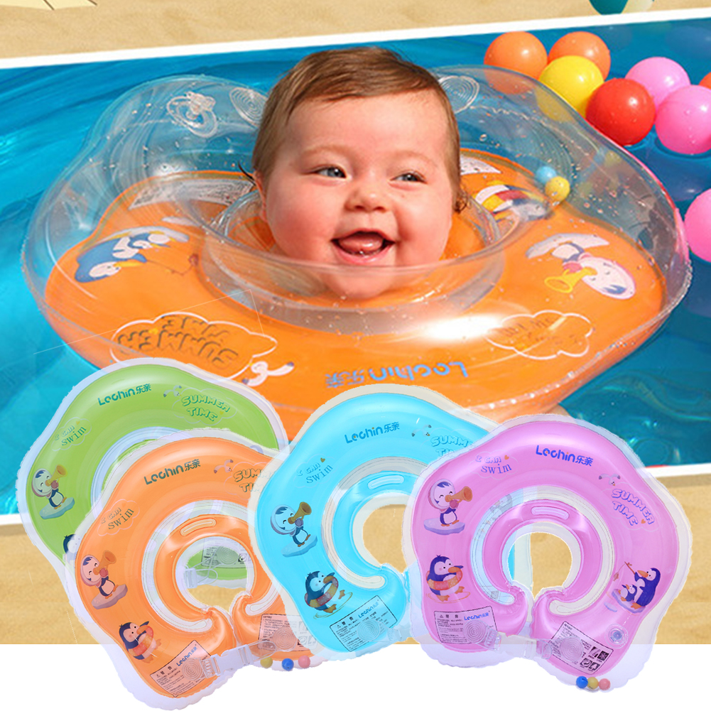 Product details of new inflatable floating swim ring kids children toy - Baby Newborn Aid Infant Swimming Water Neck Float