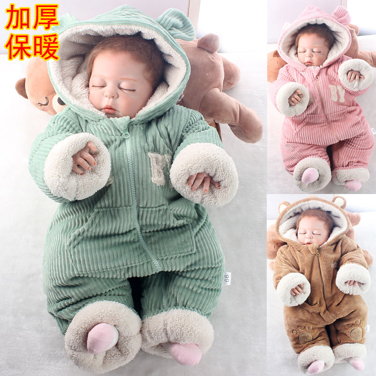 1c4805a9e8ec4 Baby Onesies Winter Coats Padded Baby Clothing Winter Wear. ‹ ›