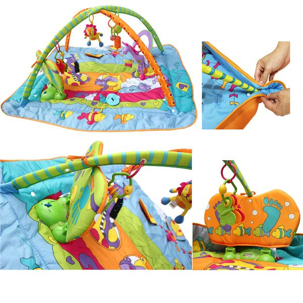 Baby Play Gym Mat With Music And Li (end 5/31/2018 10:15 AM