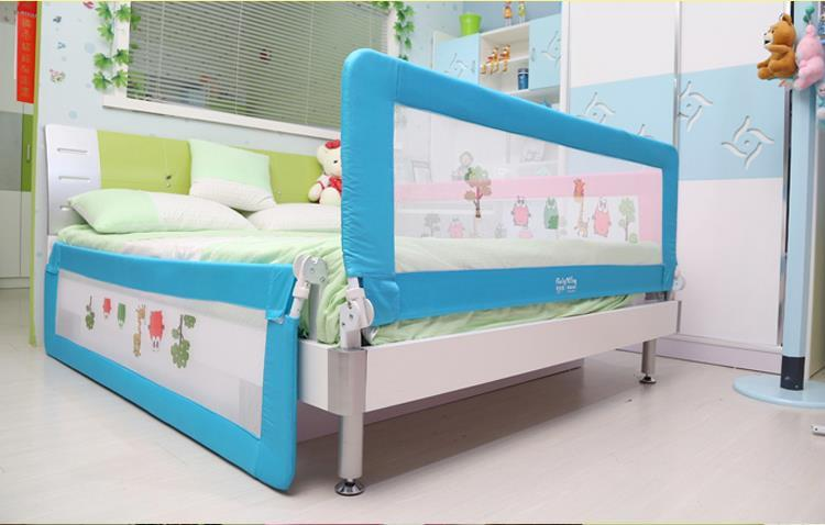 Baby Safety Bed Rail Fence Anti Fall Bedside Screen Guard