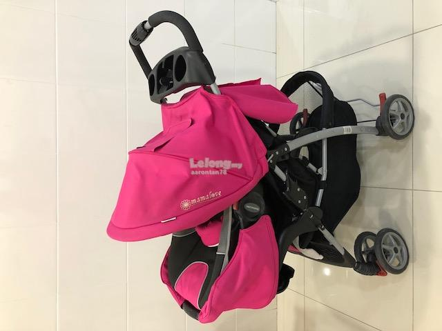 Baby Stroller and Seat