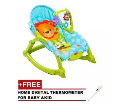 BABY THRONE Premium New Born/ Toddler Rocker Free Digital Thermometer