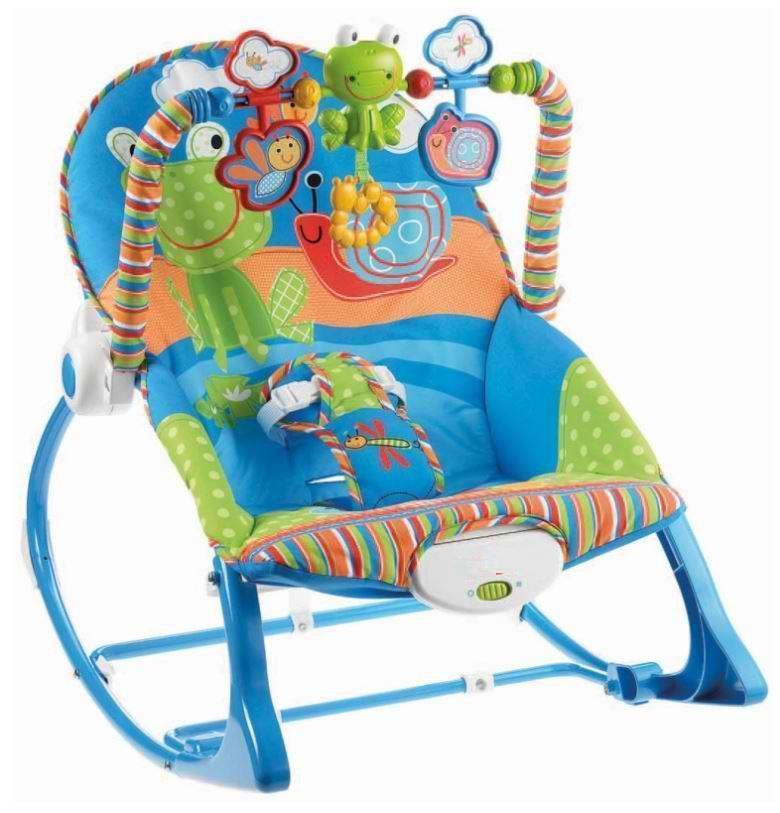 Baby Toddler Bouncer Baby Rocker Baby Chair With Safety Belt Music