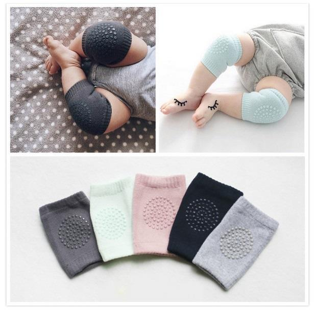 Baby Toddler Kids Knee Protector Cotton Pad Crawling Safe