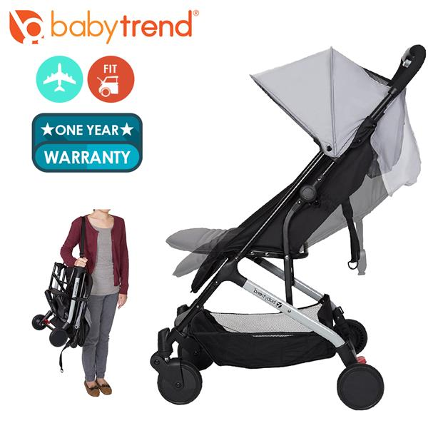 Baby Trend Ultra Lighweight Tri Fold Compact Travel Stroller