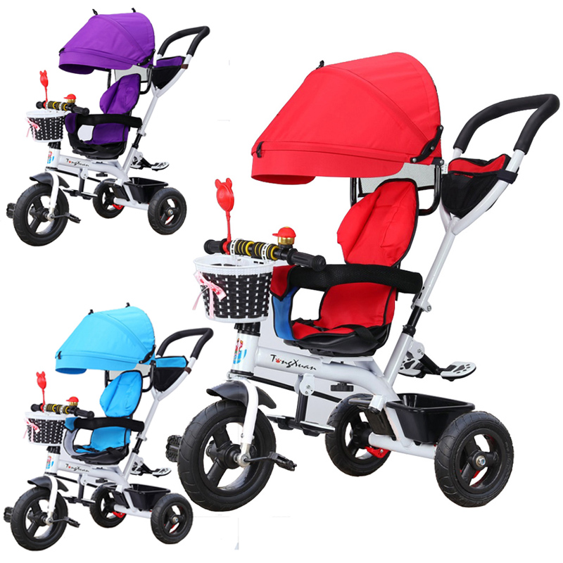 fcf7d2e3615 Baby Tricycle Bike Baby Bicycle Baby Stroller Rotating Kids Bicycle. ‹ ›