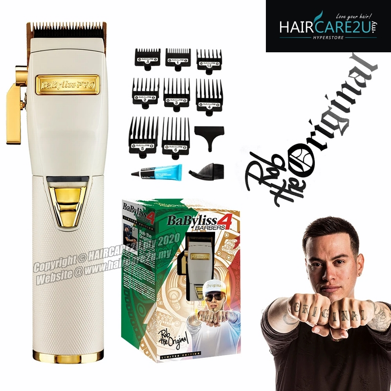 Babyliss 4 Barbers Limited Edition FX870W WHITEFX Ferrari Clipper