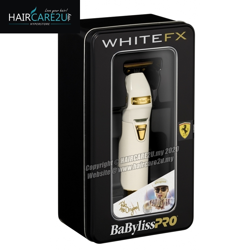 BaByliss PRO WHITEFX Skeleton Metal Lithium Outlining Trimmer