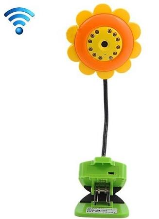Babysitter Digital Video Wifi Sunflower Baby Monitor (WIP-11).