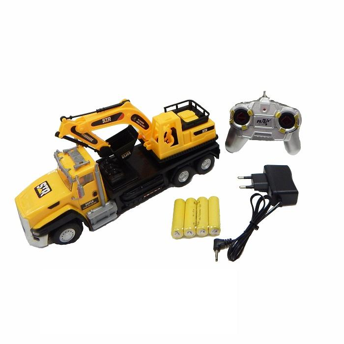 Backhoe Truck's Build Remote Control (For Ages 6 Years +)